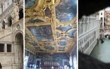 Palácio Ducale: Escadaria dos Gigantes - Sala Del Maggior Consiglio - Vista de dentro da Ponte dos Suspiros