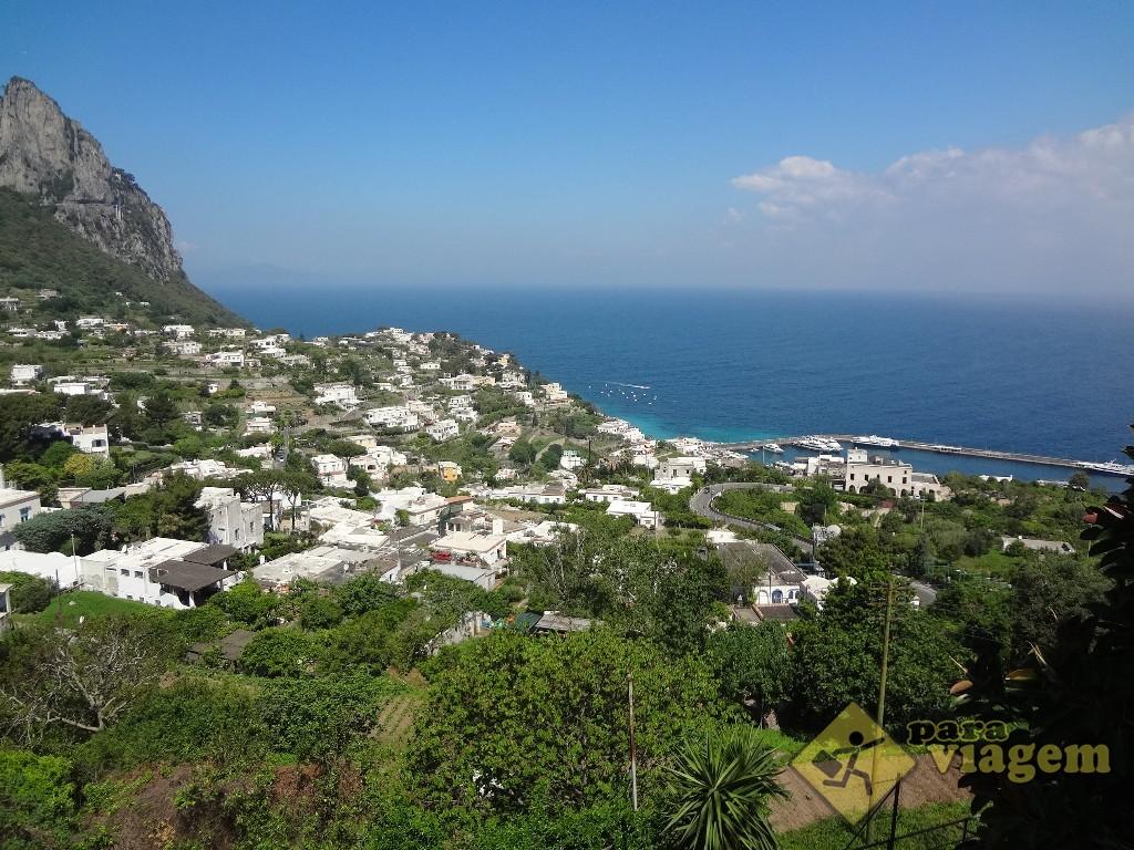 Vista da Piazzetta em Capri