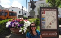 Piazza Vittoria em Anacapri