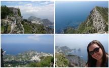 Vista de Capri e Anacapri do Monte Solaro