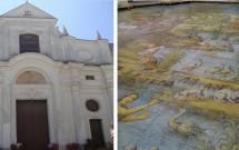 Igreja San Michele e o piso decorado