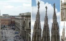 Telhado do Duomo de Milão