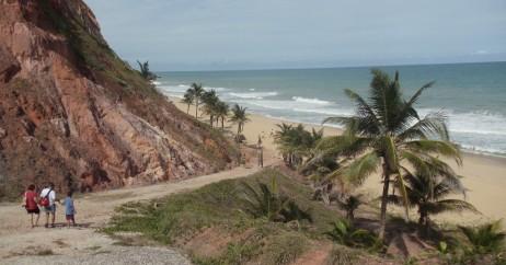 Falésias da Praia de Jacarecica