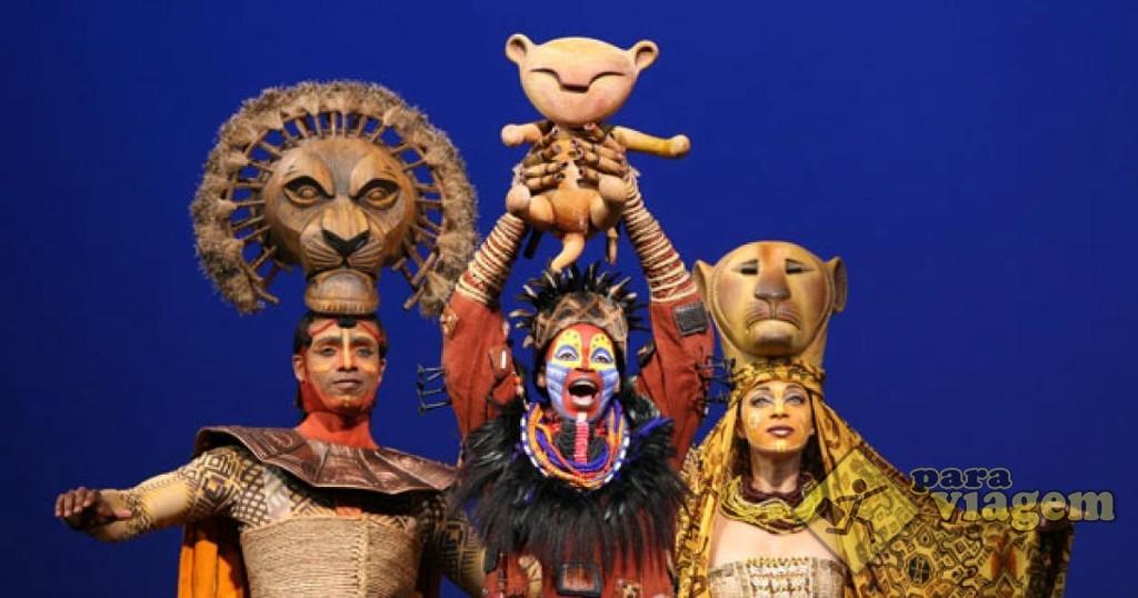"Musical da Broadway ""The Lion King"""