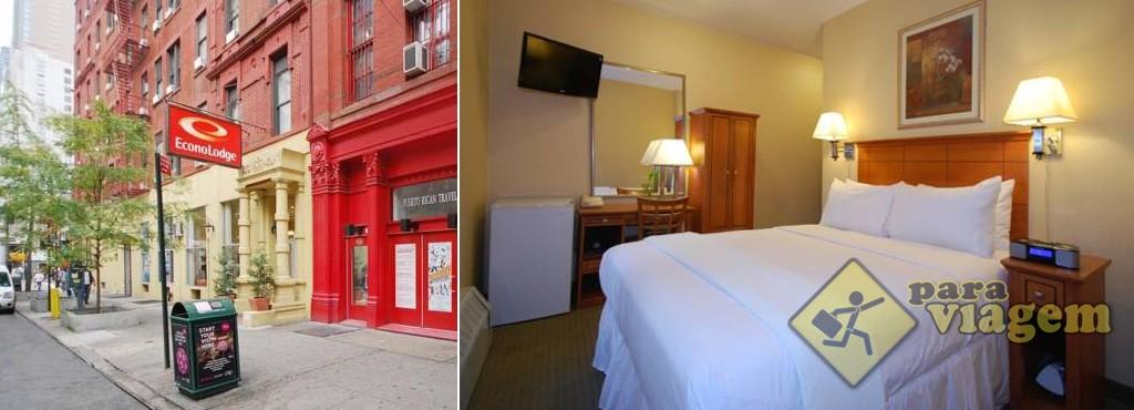 Econo Lodge Times Square em Manhattan