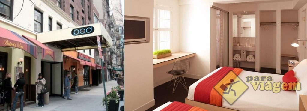 Hotel Pod 51 em Manhattan
