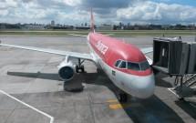 Aeronave da Avianca no Terminal em Congonhas