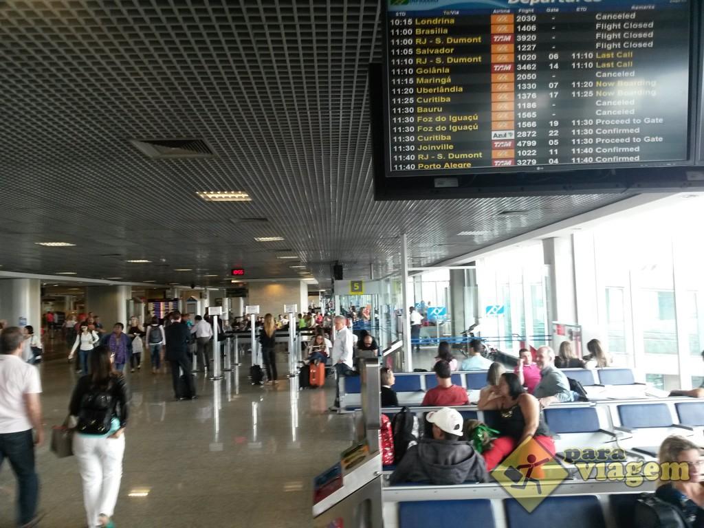 Aeroporto Viracopos Fica Onde : Aeroporto de congonhas em são paulo para viagem