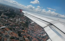 Decolando de São Paulo pela Avianca