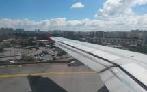 Decolando no Aeroporto de Congonhas