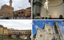 Florença: Piazza della Signoria, David de Michelangelo, Duomo e Ponte Vecchio