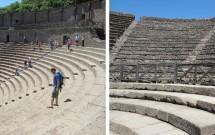 Teatro Grande (esq) e Teatro Piccolo (dir)