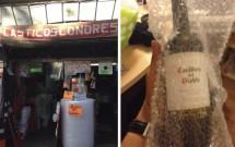 Embalagem plástica para vinho