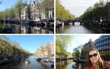 Os lindos canais de Amsterdam