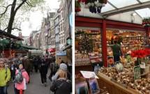 Mercado de Flores em Amsterdam