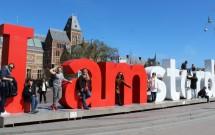 O famoso slogan: I amsterdam