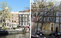 Casas típicas holandesas: estreitas e altas