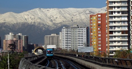 Transporte público em Santiago do Chile