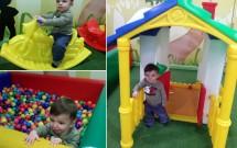 Criança Brincando na EcoAldeia do Serhs Natal