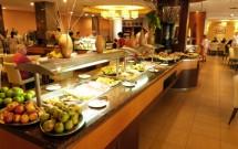 Frutas no Restaurante Potiguar do Serhs