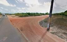 Acesso a Estrada de Chão para a Lagoa de Jacumã