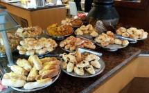 Pães no Restaurante Potiguar do Serhs