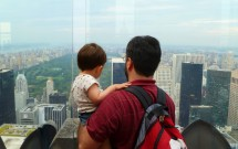 Pai e Filho no Top of the Rock