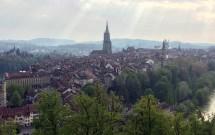 Vista de Berna à partir do Rosengarten