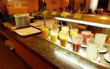 Sucos no Restaurante Potiguar do Serhs