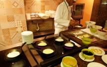 Tapioca no Restaurante Potiguar do Serhs