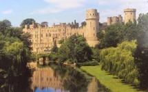 Castelo de Warwick e o Rio Avon