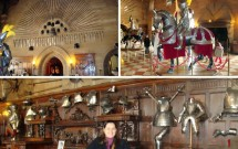 A sala das armas e armaduras