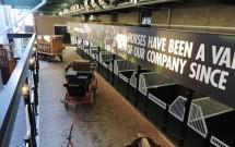 Carruagens que levavam os barris de cerveja