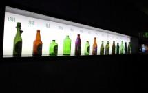 As garrafas Heineken ao longo dos anos