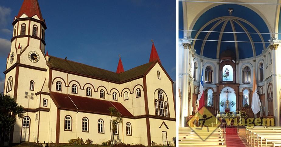Iglesia Sagrado Corazon de Jesus em Puerto Varas