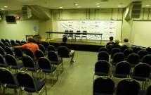 Sala de Imprensa na Arena das Dunas