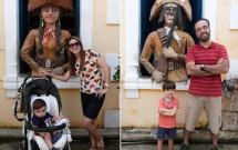 Família em Fotos no Centro de Turismo