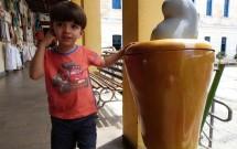 Criança no Centro de Turismo em Natal