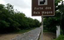 Entrada para o Forte dos Reis Magos