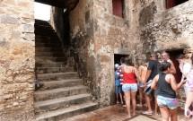 Escada para o Topo do Forte dos Reis Magos