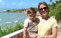 Mãe e Filho nas Falésias de Tabatinga