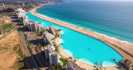 Dicas do chile a maior piscina do mundo para viagem for Piscinas ecologicas chile