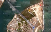Mapa: Forte dos Reis Magos