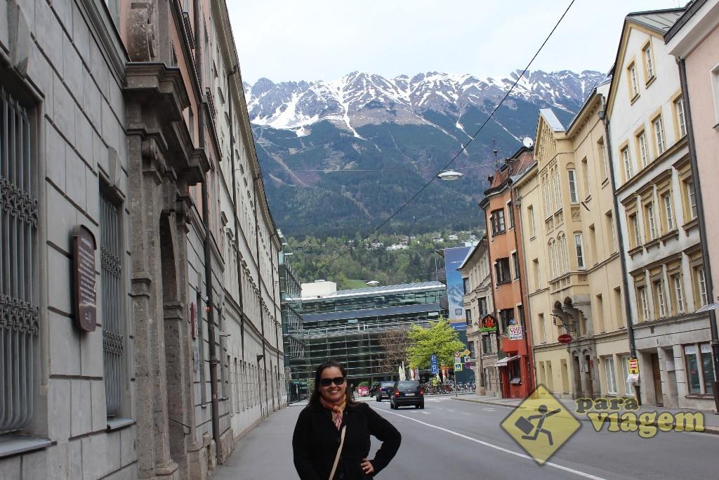 """Innsbruck é os Alpes como """"moldura"""""""
