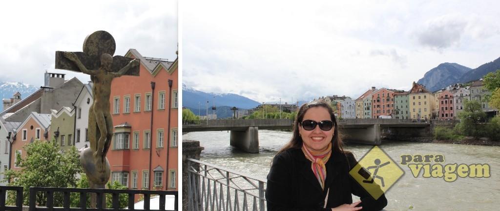 A Innbrücke e seu esquisito crucifixo