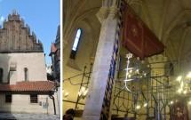 "Sinagoga Staronová (ou ""Velha-Nova"")"