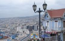 Pseo 21 de Mayo em Valparaíso