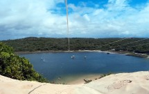 Vista da Lagoa de Jacumã