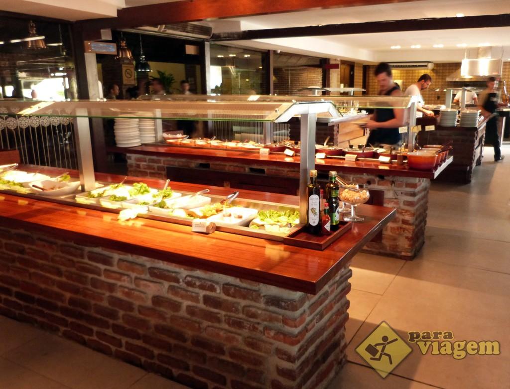 Buffet do Restaurante Tábua de Carne