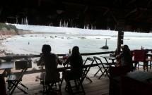 Clientes Almoçando com Vista pro Mar no Caxangá em Pipa